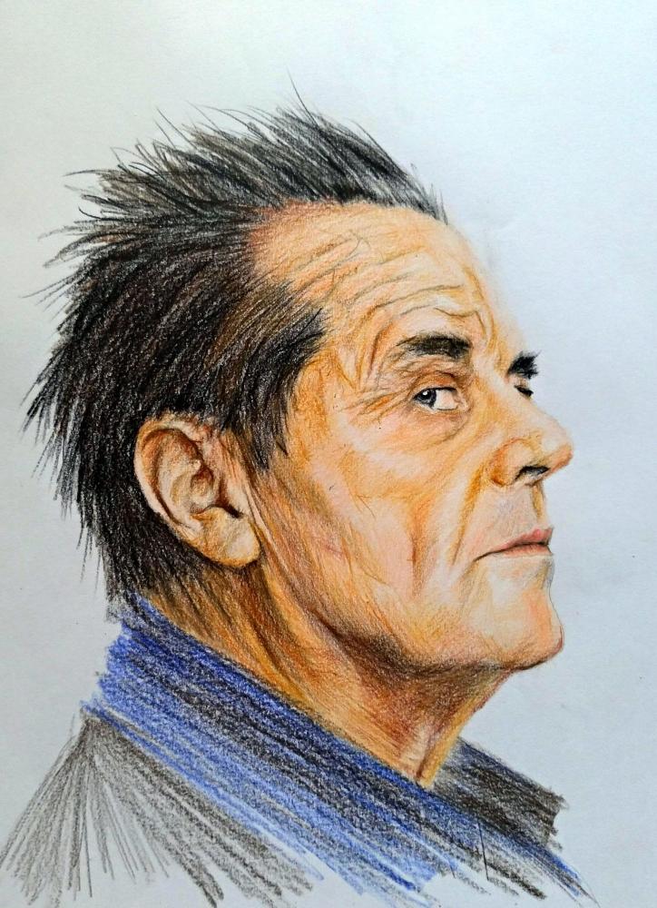 Jack Nicholson by linshyhchyang
